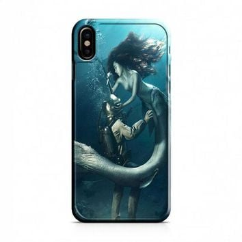 DIVER AND THE MERMAID iPhone X Case
