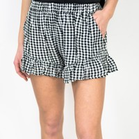 Sun Skipper Gingham Shorts
