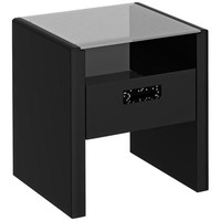 Kathy Ireland New York Skyline Modern Mocha End Table - #3H981 | LampsPlus.com