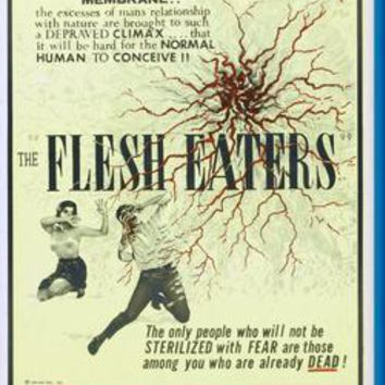"Flesh Eaters poster 24""x36"""