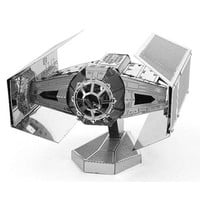 FASCINATIONS METAL EARTH STAR WARS DARTH VADERS TIE FIGHTER