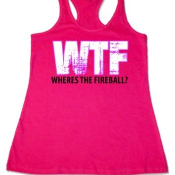 Women's Where's The Fireball Tank Top