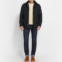 Polo Ralph Lauren - Tartan Waxed-Cotton Field Jacket | MR PORTER