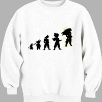 Dragonball Z Super Saiyan Evolution 4 GT Sweater for Mens Sweater and Womens Sweater *