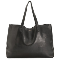 The Perfect Leather Tote 'Omega' Black