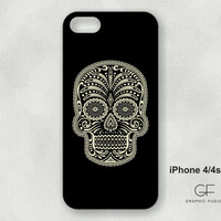 Choice of iphone 5 or 4/4s case -sugar skull IP-204