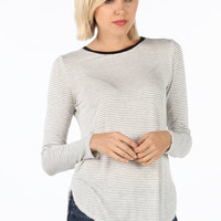 Walk the Line Striped Top