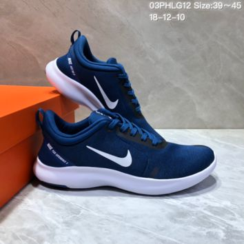 DCCK N708 NIKE FLEX EXPERIENCE RN Sports Casual Running Shoes Blue