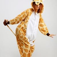 Giraffe Animal Adult Kigurumi Onesuit 長頸鹿