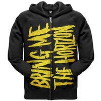 Bring Me The Horizon - Mens Logo Zip Hoodie Small Black