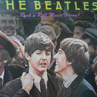 The Beatles Rock N Roll Music Volume 1 vinyl record