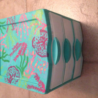 Lilly pulitzer inspired storage