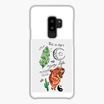 Kian Lawley Tattoos Samsung Galaxy S9 Plus Case