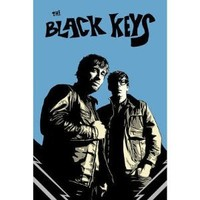 Black Keys - Blue Background Music Poster