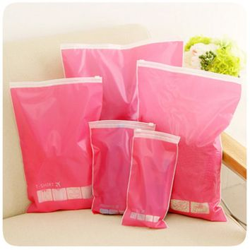 New Waterproof Portable Durable Makeup Bath Toiletry Travel Wash Toothbrush Pouch Bag Case Multi size