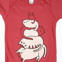Baby One Piece Cat Bodysuit - Cat One Piece Baby Romper Outfit