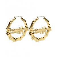 M16 DOORKNOCKER EARRINGS. - NEW