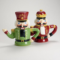 Nutcracker Teapots, Set of 2