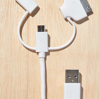 3 In 1 USB Cable - Urban Outfitters