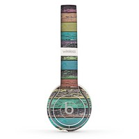 The Chipped Pastel Paint on Wood Skin Set for the Beats by Dre Solo 2 Wireless Headphones