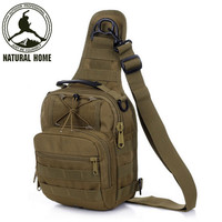 [NaturalHome] Brand Outdoor Sport Bag 2016 New Quality Nylon Military Tactical Men's Outdoors Hiking Sports Bag