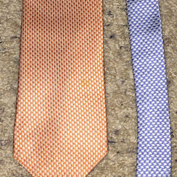 Sale!! Vintage TOMMY HILFIGER silk tie men's neck ties Made in USA