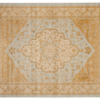 Behati Rug, Light Gray/Gold, Area Rugs