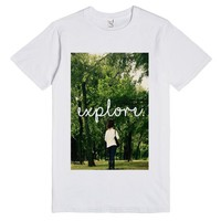 Explore Tee | Fitted T-Shirt | SKREENED