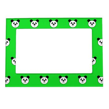 Cute imperfectly perfect panda frame