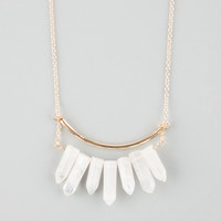FULL TILT Crystal Cluster Necklace | Necklaces