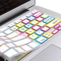 Amazon.com: Cosmos Premium Rainbow White Color Silicone Soft Keyboard