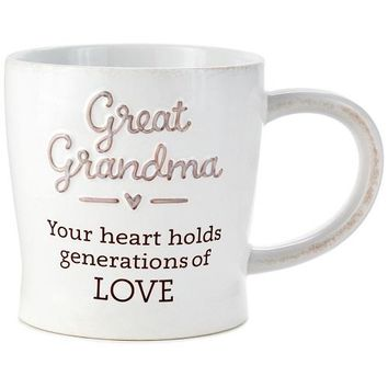 Great-Grandma Generations of Love Mug, 12 oz.