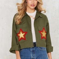 After Party Vintage As You Were Army Jacket
