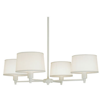 Real Simple Collection 4-Light Chandelier design by Robert Abbey