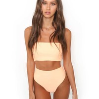 Buy Our Solange Bikini in Peach Online Today! - Tiger Mist