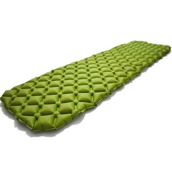 ExtraLite Inflatable Sleeping Mat Fast Filling Moistureproof Camping Mat Sleeping Pad