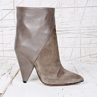 Iro Daithy Leather Boots in Grey at Urban Outfitters