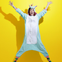 Japanese Unicorn Kigurumi Costume