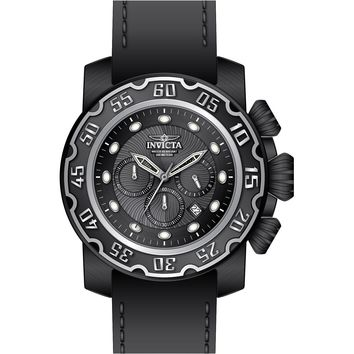 Invicta Men's 22485 Lupah Quartz Chronograph Black Dial Watch