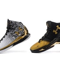 spbest Men's Under Armor Curry MVP Basketball Shoes  40-46