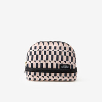 Kate Spade Saturday Small Dome Cosmetic Case In Bustling Blocks