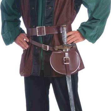 Medieval Belt And Sword Adult Costume