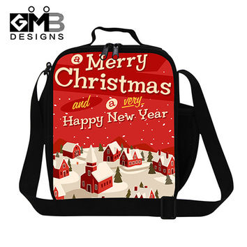 Personalized Christmas insulated lunch bags for teens,adults work lunch bag,lunch cooler for teens school,childrens reusable bag