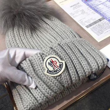 DCCKNQ2 Moncler Women Beanies Knit Winter Hat Cap-2
