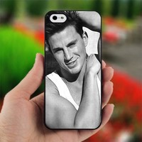 Channing Tatum cute - Photo on Hard Cover For iPhone 4,4S