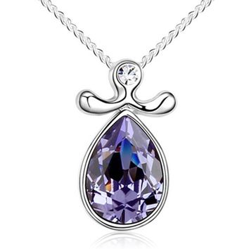 Crystal Libra Necklace