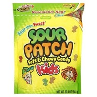 Sour Patch Soft and Chewy Candy for Kids - 30.4 oz