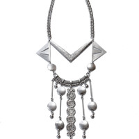Silver Palace Necklace