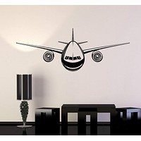 Vinyl Wall Decal Airplane Aircraft Child Room Decoration Stickers Mural Unique Gift (ig4928)