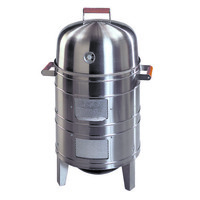 Southern Country Stainless Steel Charcoal Water Smoker